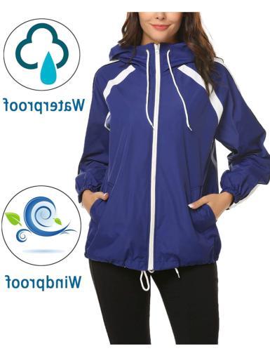 zhenwei Waterproof Outdoor Rain Coat Hiking
