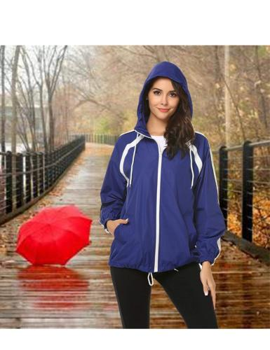 zhenwei Raincoat Outdoor Waterproof Coat Hiking