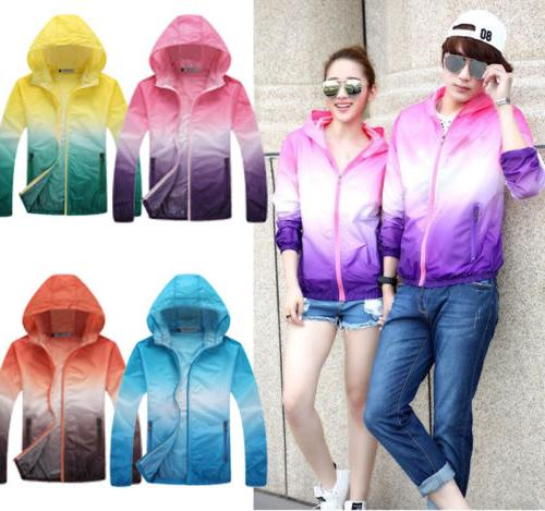 Waterproof Sunscreen Womens Oversized Coat US