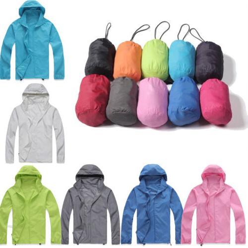 waterproof windproof jacket men women lightweight rain