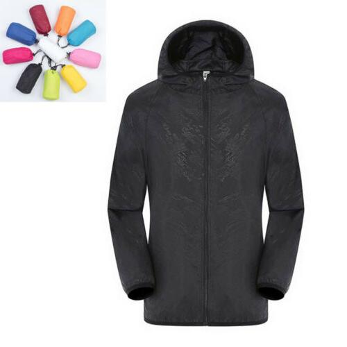 waterproof windproof jacket men women quick drying