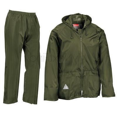 Result Waterproof Suit Jacket/Coat & Trousers Set