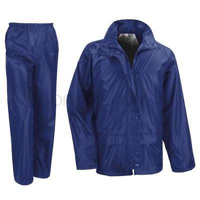 Result Core Waterproof Rain Suit Jacket/Coat Trousers