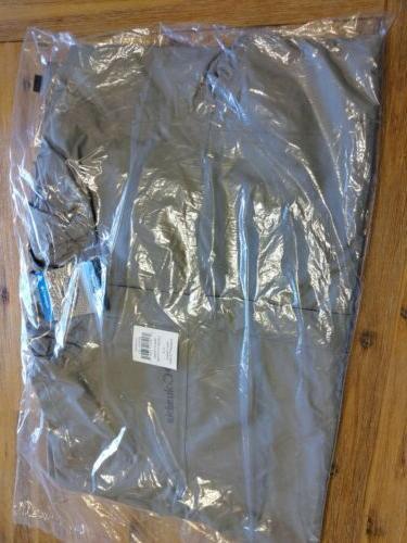 Columbia II Men's Graphite Water Resistant Full Zip Jacket