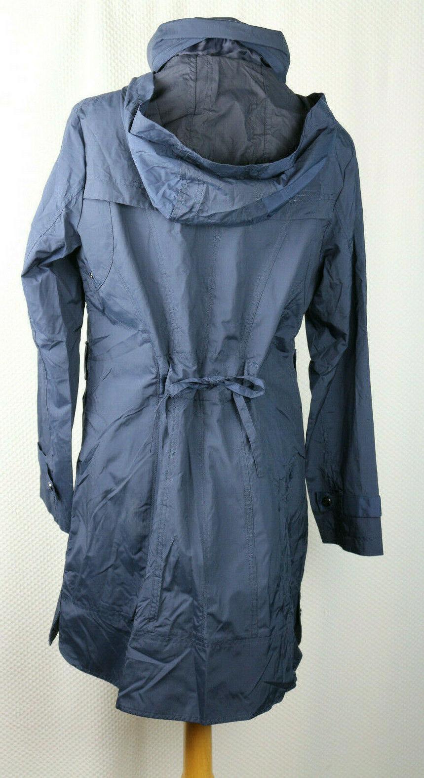 Cole Rain Waist Packable Hood Med