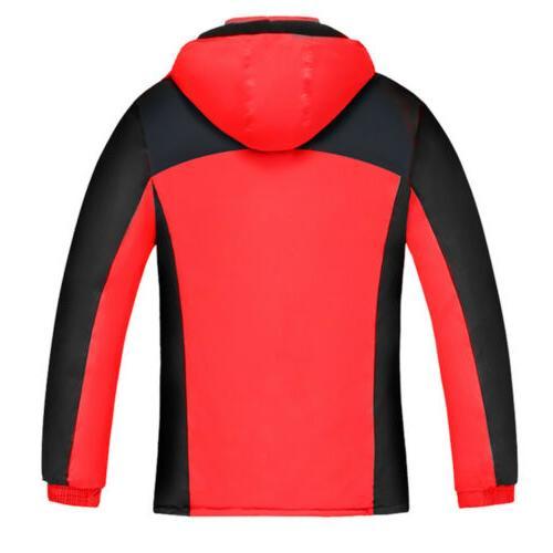 Women Jacket Waterproof Windproof Snow Outwear Coat