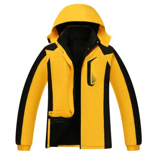 Women Hooded Jacket Windproof Outwear Tops