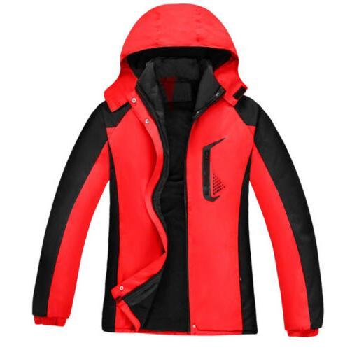 Women Jacket Waterproof Windproof Snow Rain Outwear