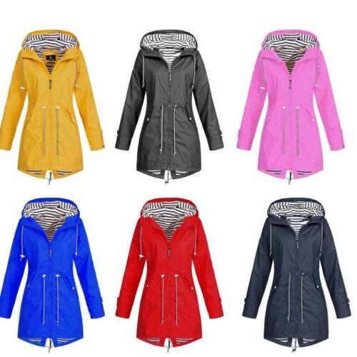 Women Parka Winter Rain