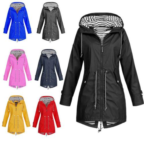 Women Long Warm Parka Wind Jacket Winter Waterproof Rain