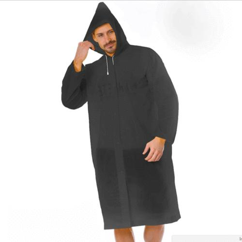 PE Raincoat Hooded Poncho