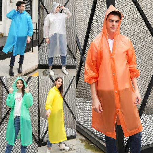 Raincoat Transparent Clear See Through Rain Coat Outdoor Wat