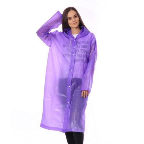Women Waterproof Clear Coat