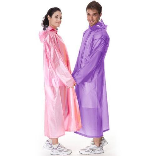 Women Waterproof Clear PVC Coat
