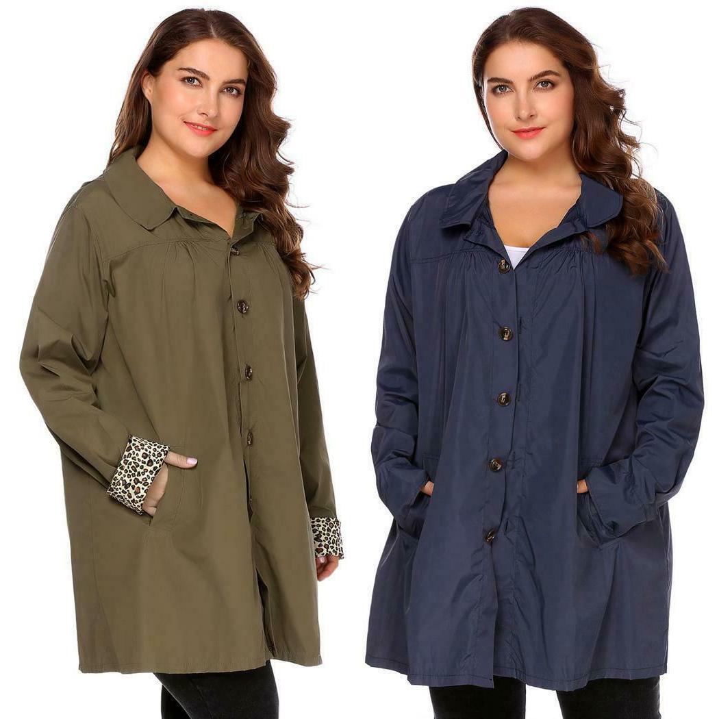Women Size Hooded Long Sleeve Waterproof Raincoat 03