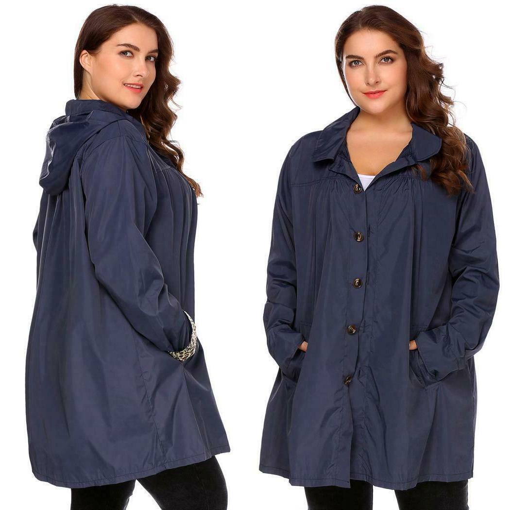 Women Long Waterproof Raincoat 03