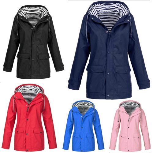 Women Outdoor Rain-coat Windproof