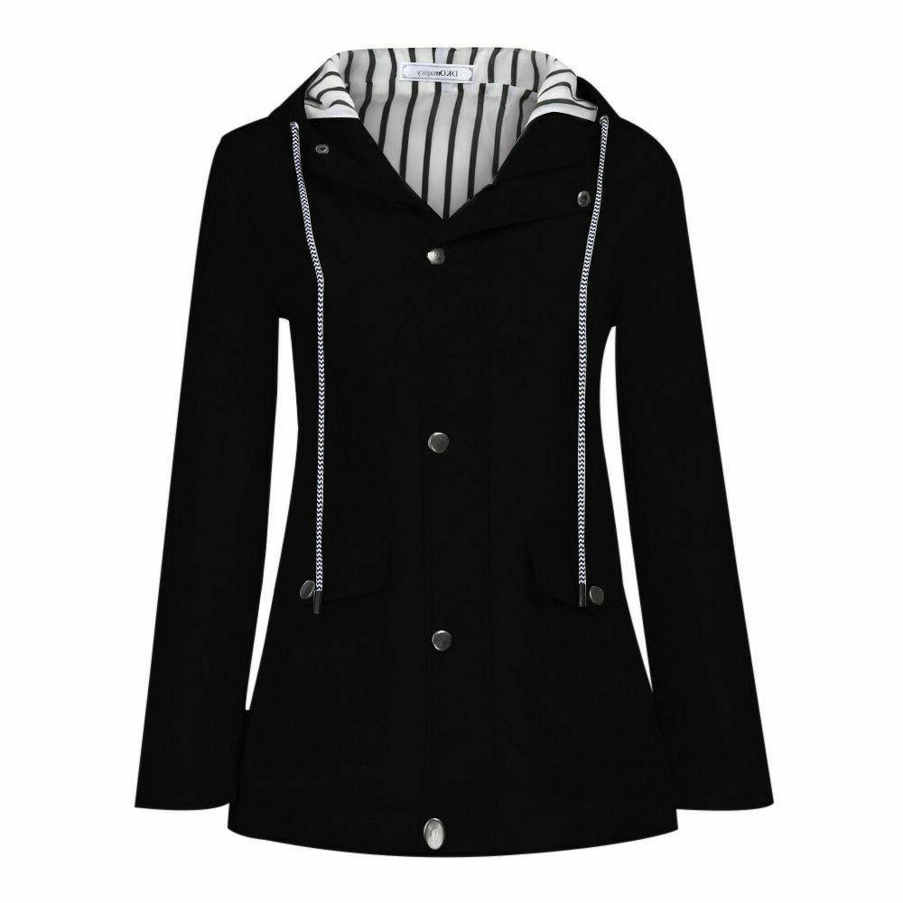 Women Jacket Outdoor Waterproof Windproof Plus Size