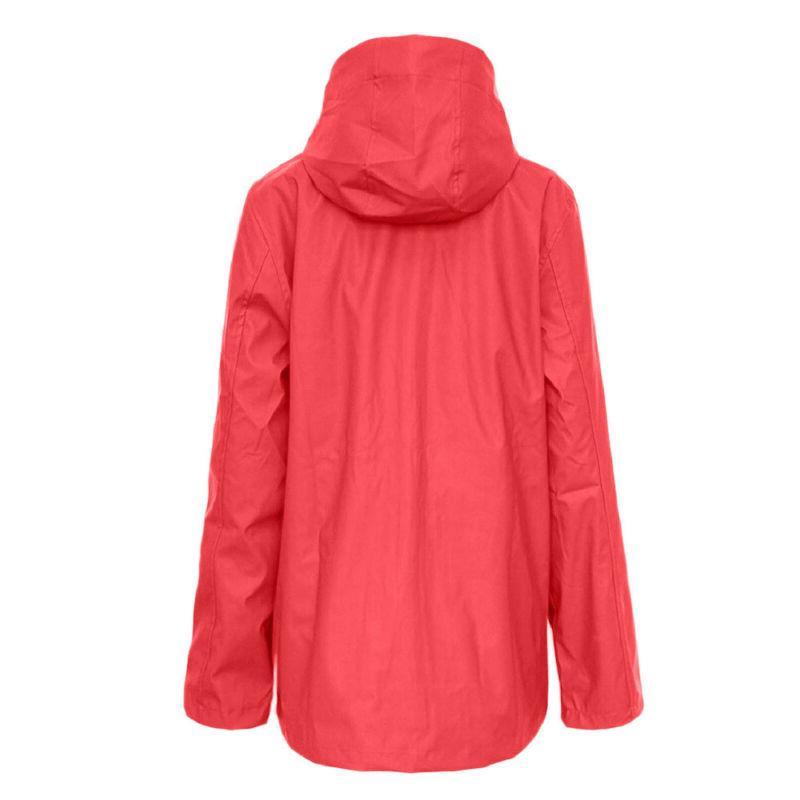 Women Rain Plus Size Waterproof Hooded Raincoat