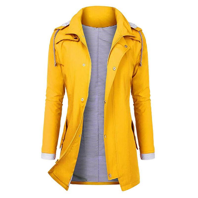 Women Rain Plus Size Raincoat US