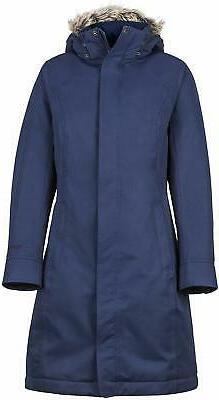 Marmot Women's Chelsea Waterproof Down Rain Coat, Fill Power