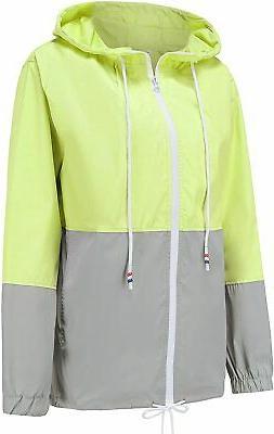 Women's Lightweight Waterproof Raincoat Active Outdoor Windp