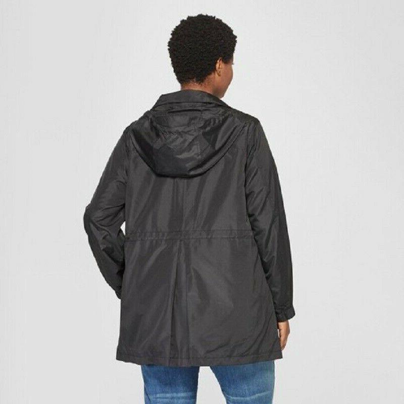 Women's Plus Size Rain Coat - Ava &