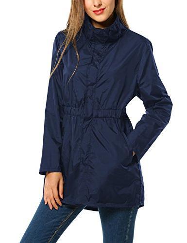 ANGVNS & Windproof Jacket Raincoat Collar