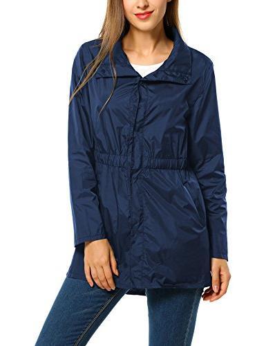 ANGVNS Windproof Raincoat Collar