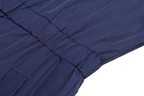 ANGVNS Women's Waterproof & Windproof Poncho Raincoat Anorak Stand Collar