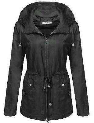 women s waterproof lightweight rain jacket anorak