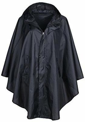 women s waterproof packable rain jacket batwing