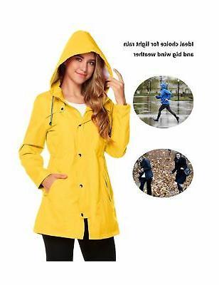 ZHENWEI Women's Waterproof Jacket Lined ...