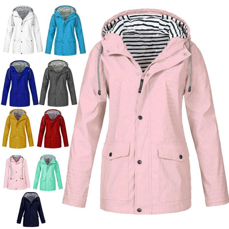women s waterproof rain jacket outdoor coats
