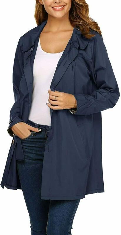 Beyove Women'S Outdoor Hooded Lightweight Jacket