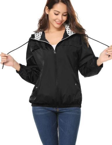 LOMON Women's Outdoor Rain