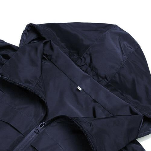 Women Waterproof Jacket Coat Plus Size