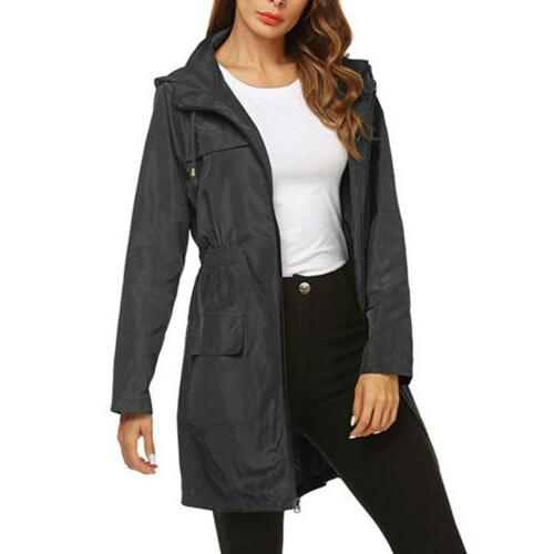 Women Hoodies Raincoat Coat Plus