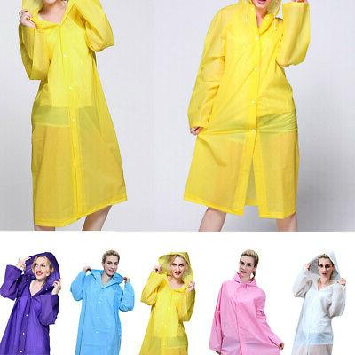 womens clear waterproof long jacket adult raincoat