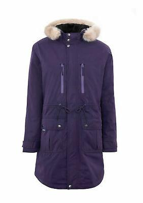 Womens Europa Parka | Long Length Down Jacket Waterproof Hoo