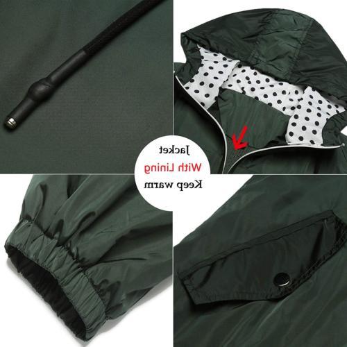LOMON Women's Raincoat