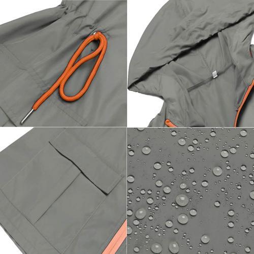 LOMON Waterproof for Windbreaker Packable Outdoor