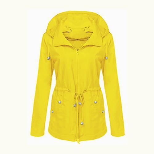 Womens Zip Waist Coat Windbreaker Jacket
