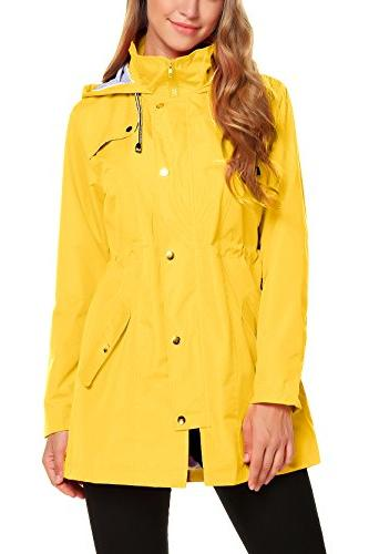womens lightweight hooded waterproof active outdoor rain