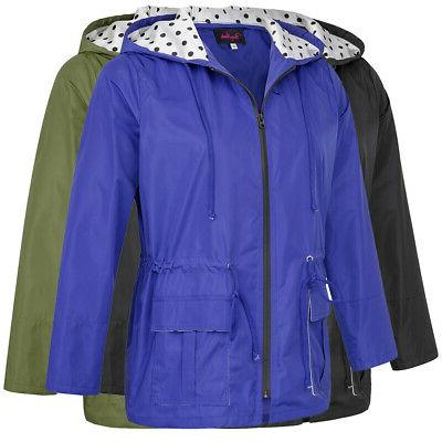 Womens Lightweight Size New Raincoat