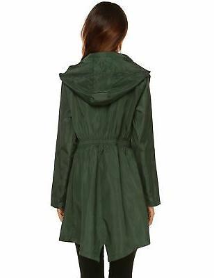LOMON Womens Hooded Active Outdoor Quick