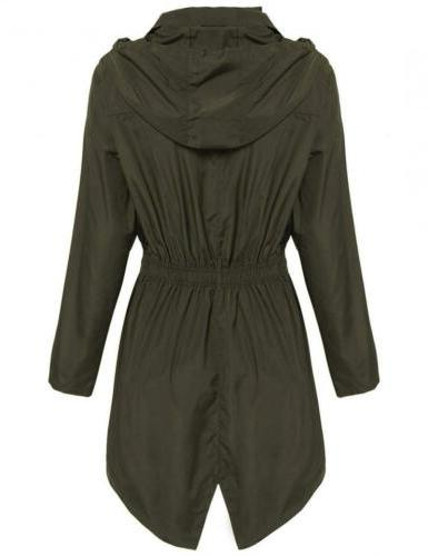 Hotouch Womens Trench Green