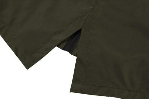 Hotouch Womens Trench Small, Army Green