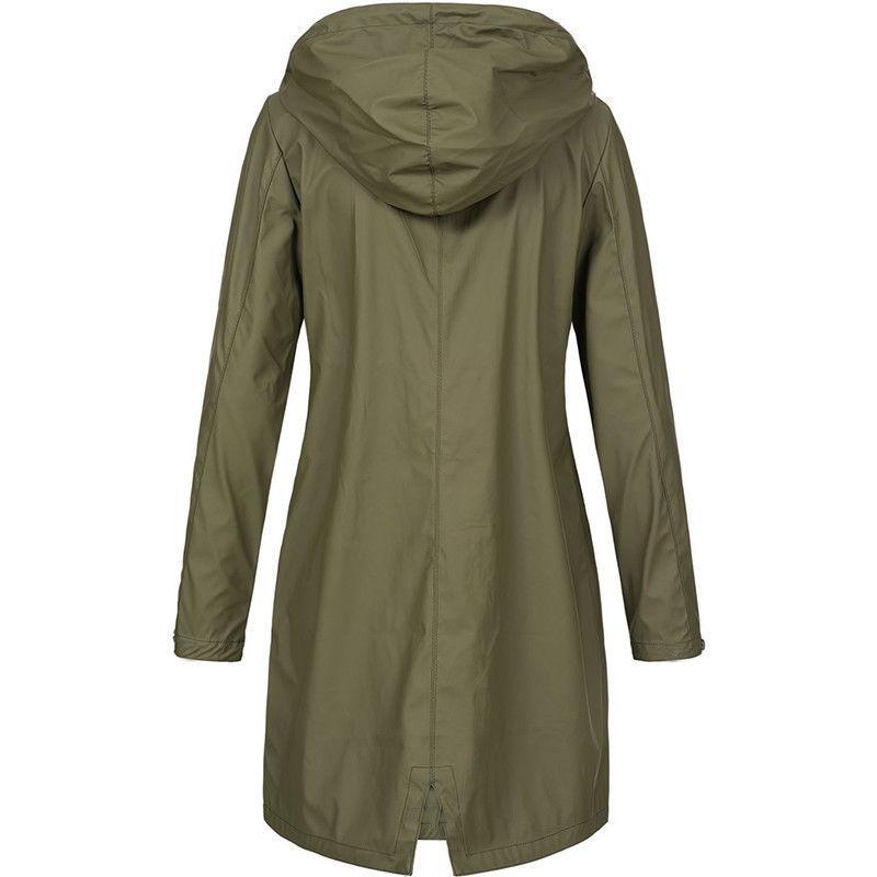 Plus Raincoat Coat Outwear