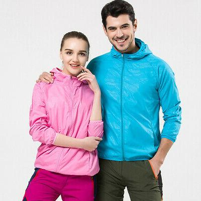 Unisex Windproof Jacket Outdoor Bicycle Sports Rain US